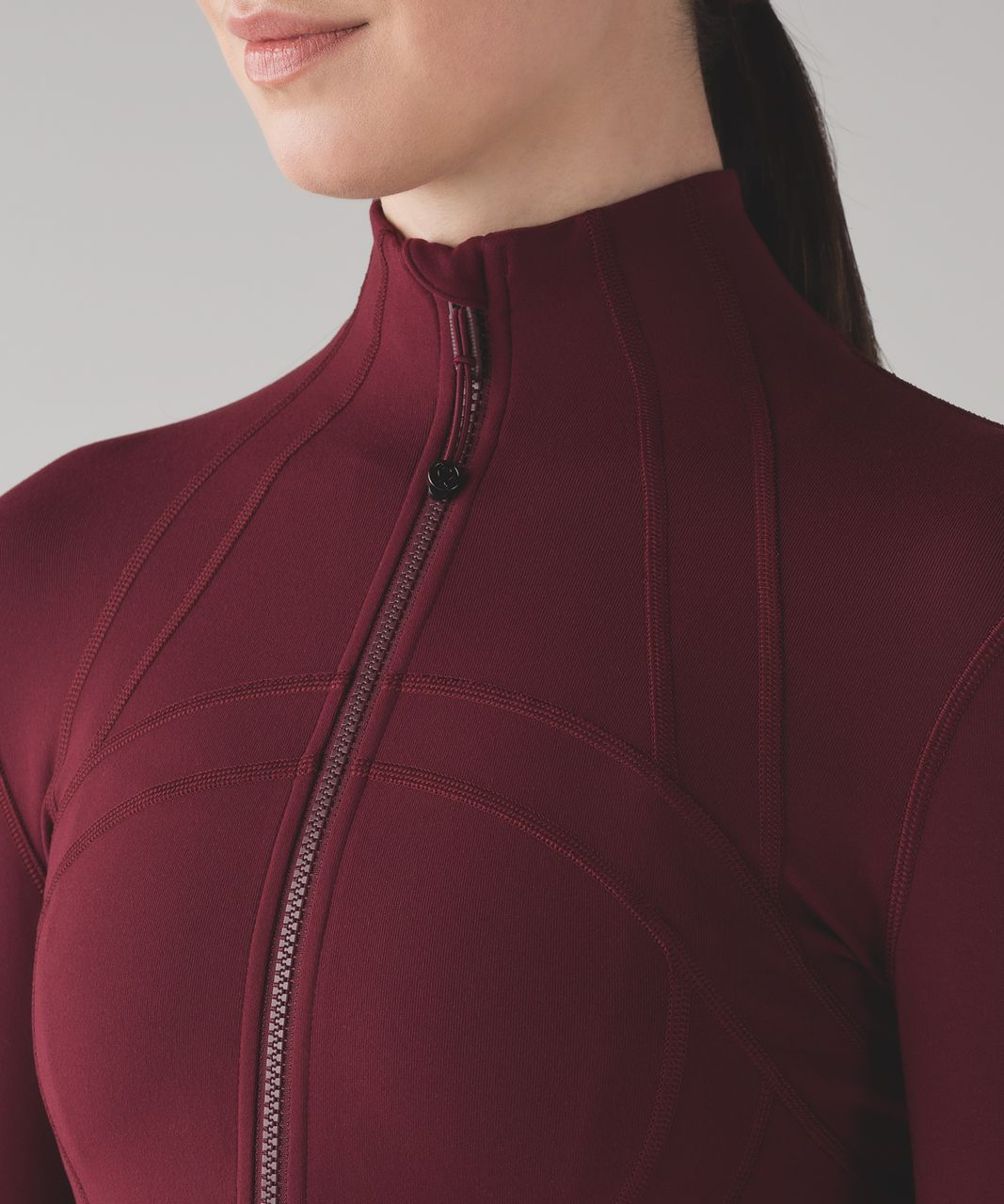Lululemon Define Jacket - Deep Rouge