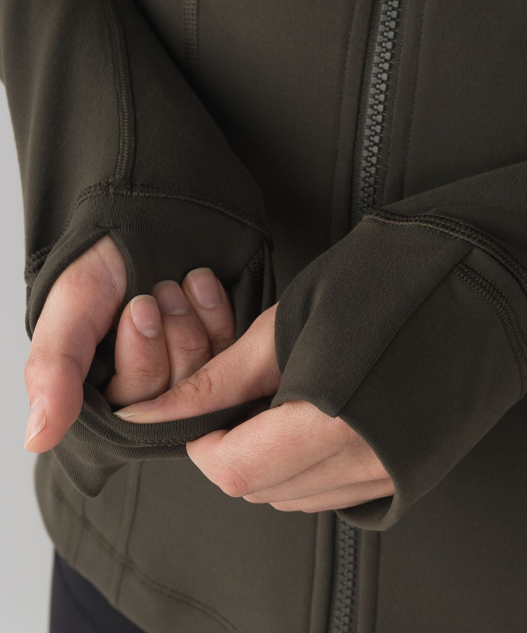 Lululemon Define Jacket - Dark Olive (First Release)