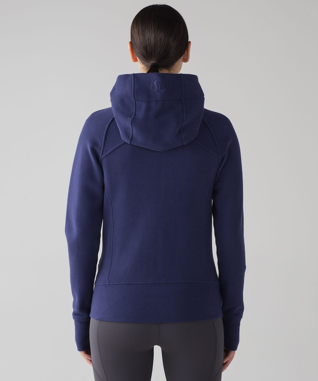 Lululemon Scuba Hoodie *Light Cotton Fleece - Blueberry Jam