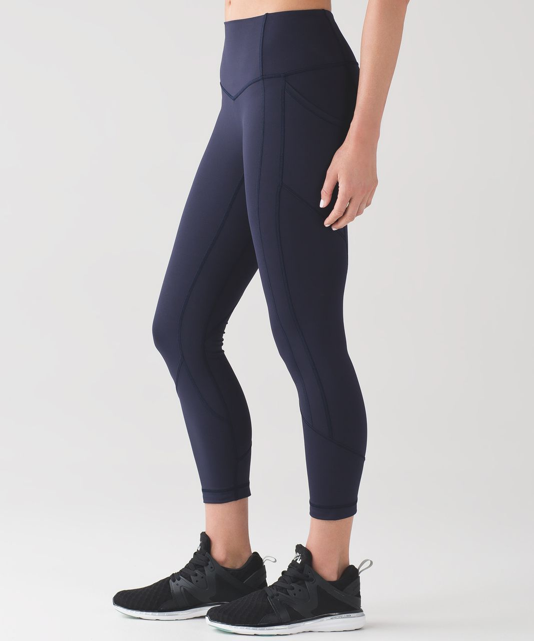 """Lululemon All The Right Places Crop II (23"""") - Midnight Navy"""