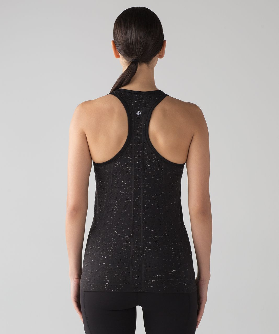 Lululemon Swiftly Tech Racerback - Black / White (02/2017 release)