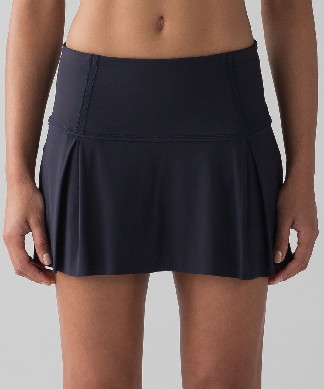 "Lululemon Lost In Pace Skirt (Regular) (13"") - Midnight Navy"