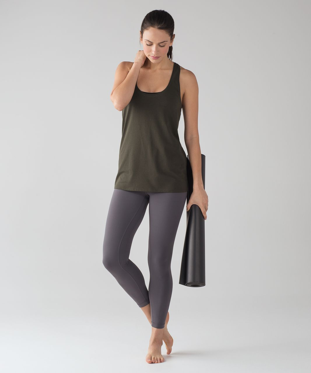 Lululemon Love Tank - Dark Olive