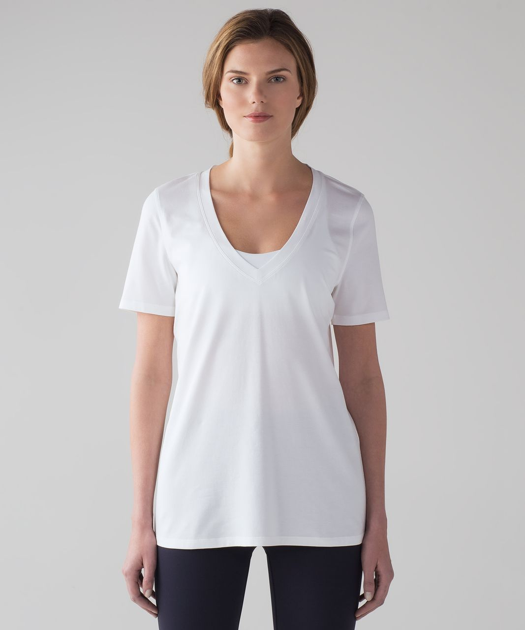 Lululemon Love Tee IV (Poly Yarn) - White