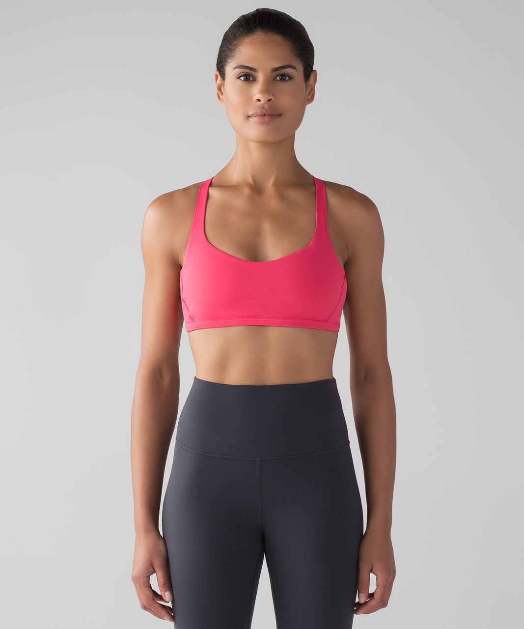 Lululemon Free To Be Zen Bra - Lip Gloss