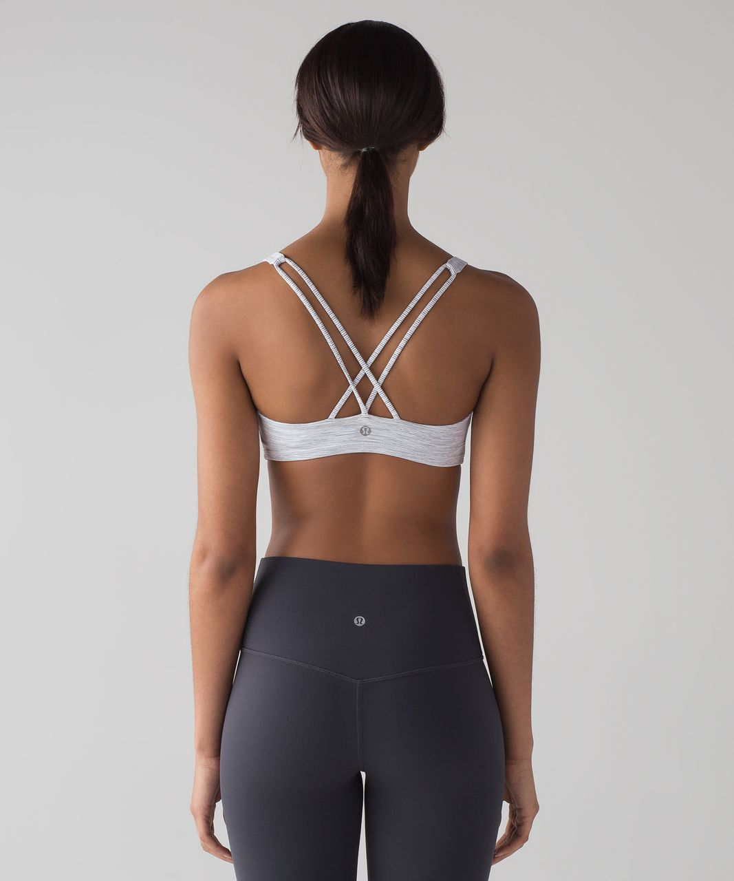 Lululemon Free To Be Bra - Wee Are From Space Nimbus Battleship