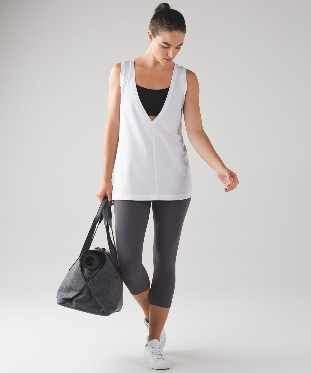 Lululemon Deep Cove Muscle Tank White Lulu Fanatics