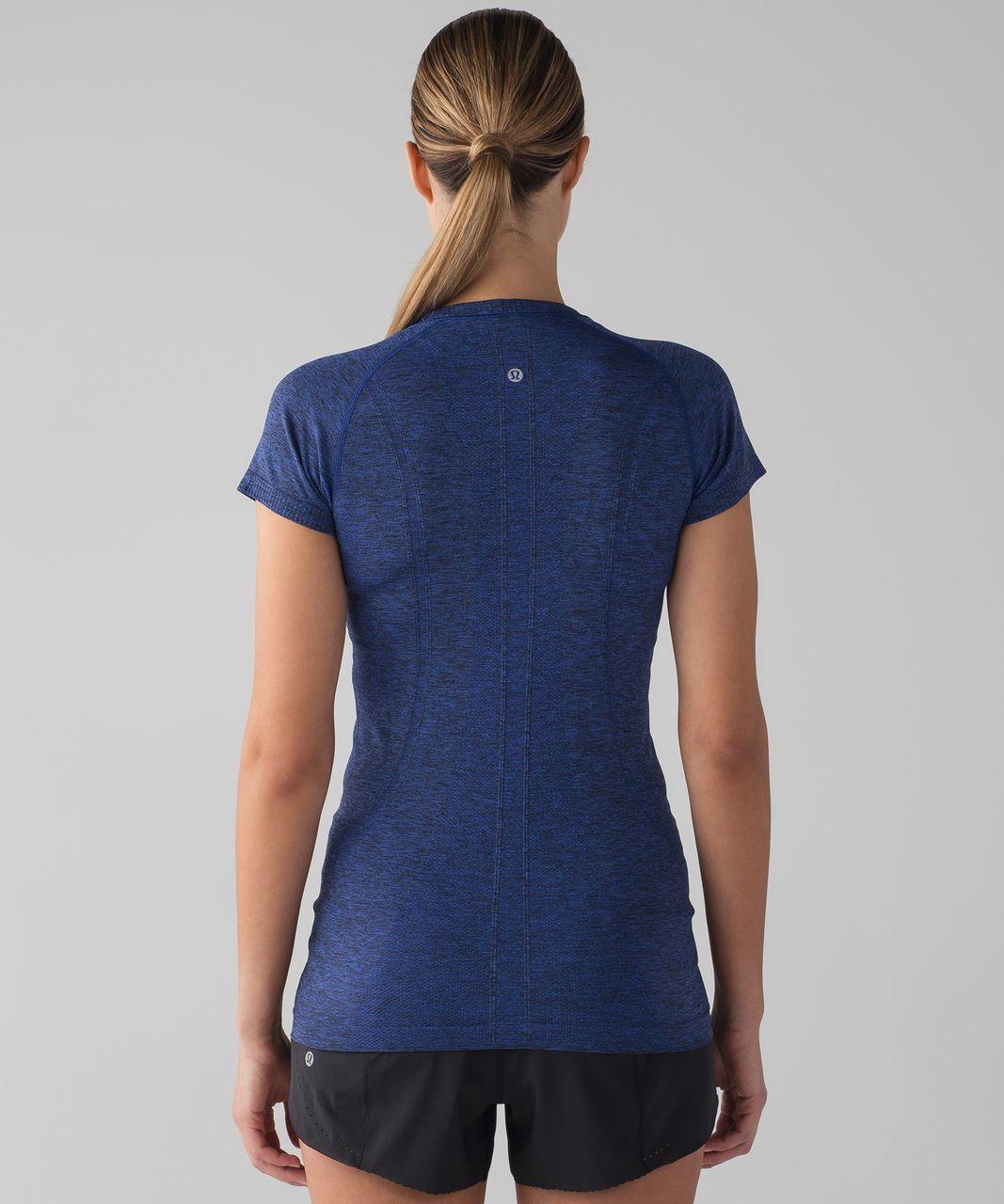 Lululemon Swiftly Tech Short Sleeve Crew - Blazer Blue / Black