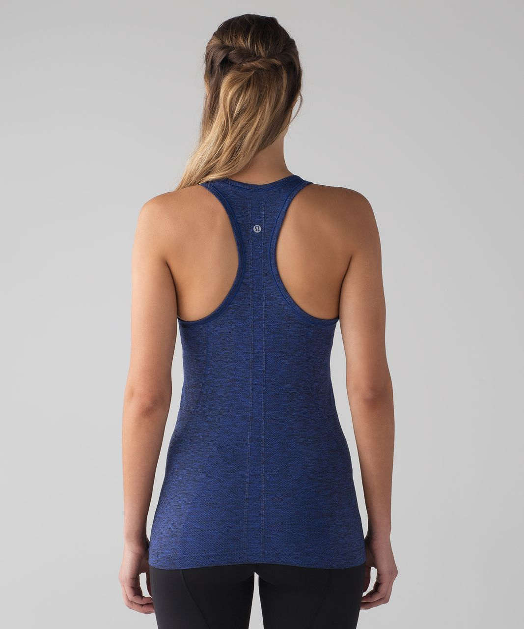 Lululemon Swiftly Tech Racerback - Blazer Blue / Black