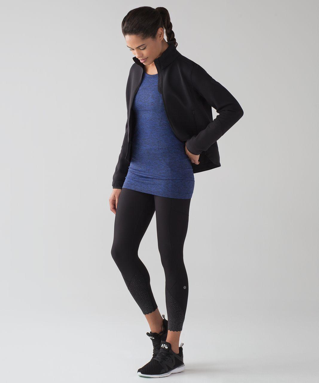 Lululemon Swiftly Tech Long Sleeve Crew - Blazer Blue / Black