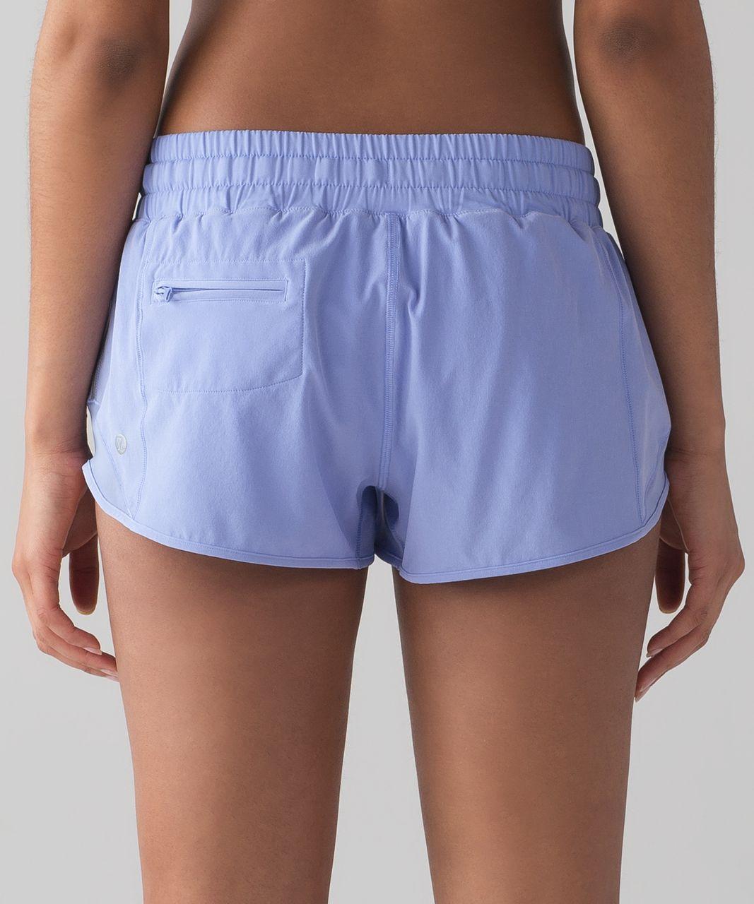 "Lululemon Hotty Hot Short (2 1/2"" ) - Hydrangea Blue"