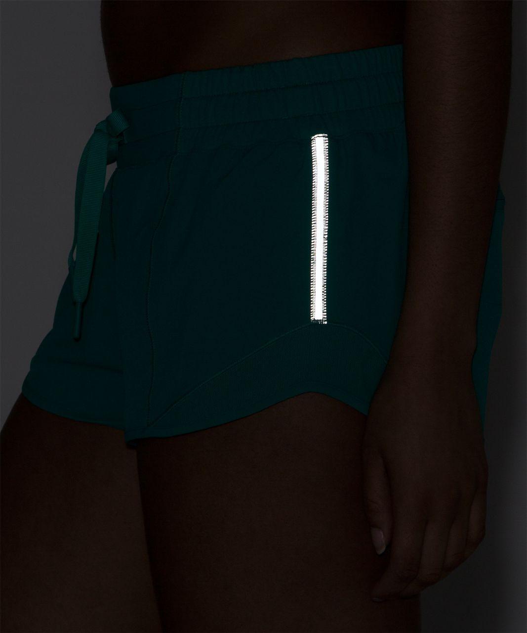 "Lululemon Hotty Hot Short (2 1/2"" ) - Viridian Green"