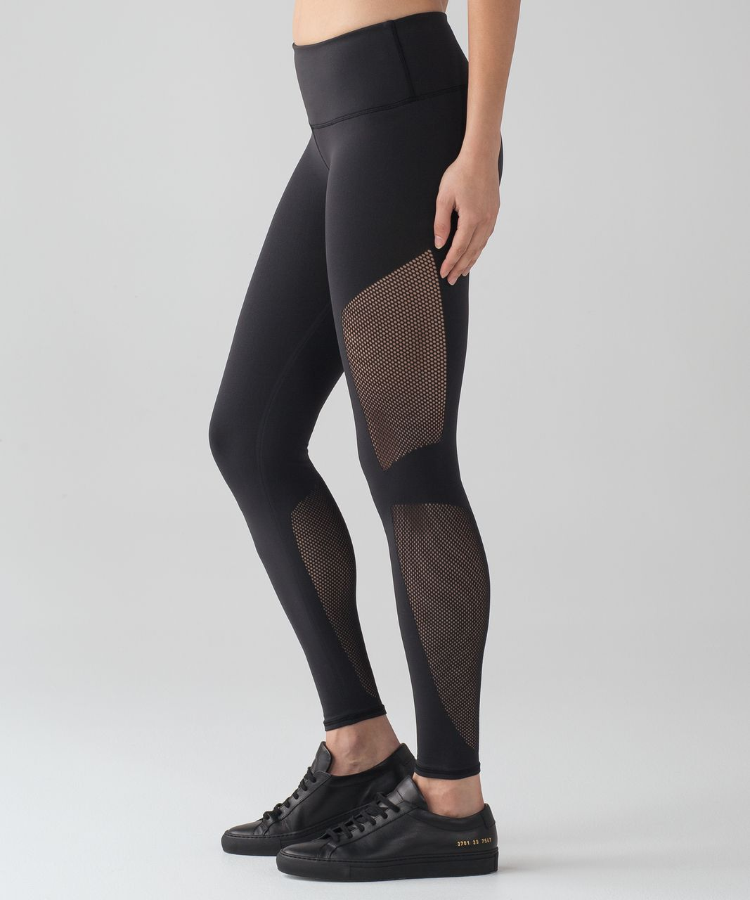 3534ff293f Lululemon Reveal 7/8 Tight - Black - lulu fanatics