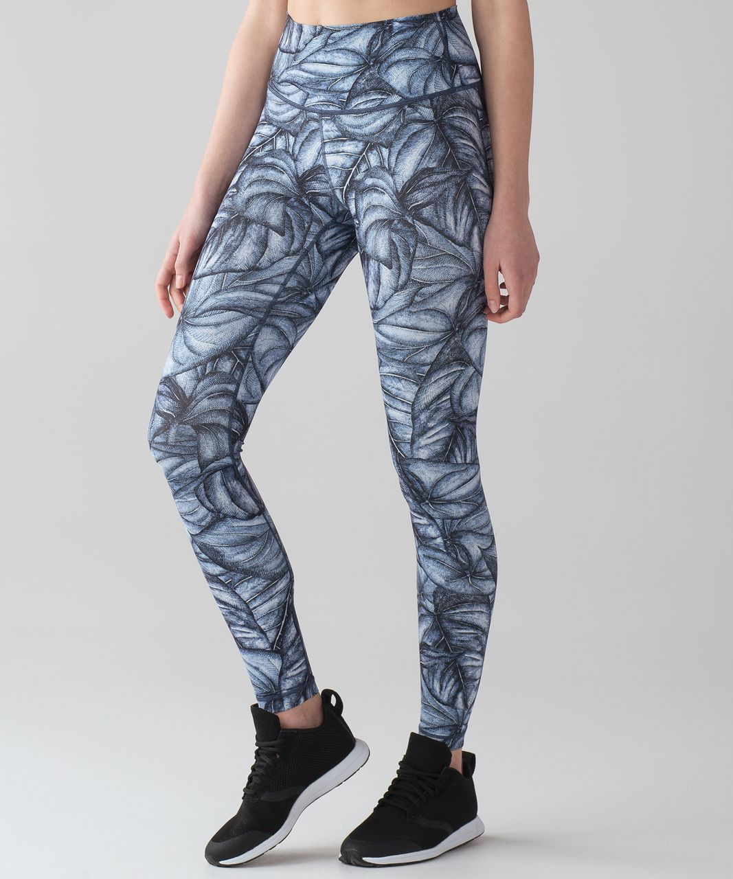 Lululemon Wunder Under Hi-Rise Tight (Nulux) - Concrete Jungle Alpine White Multi
