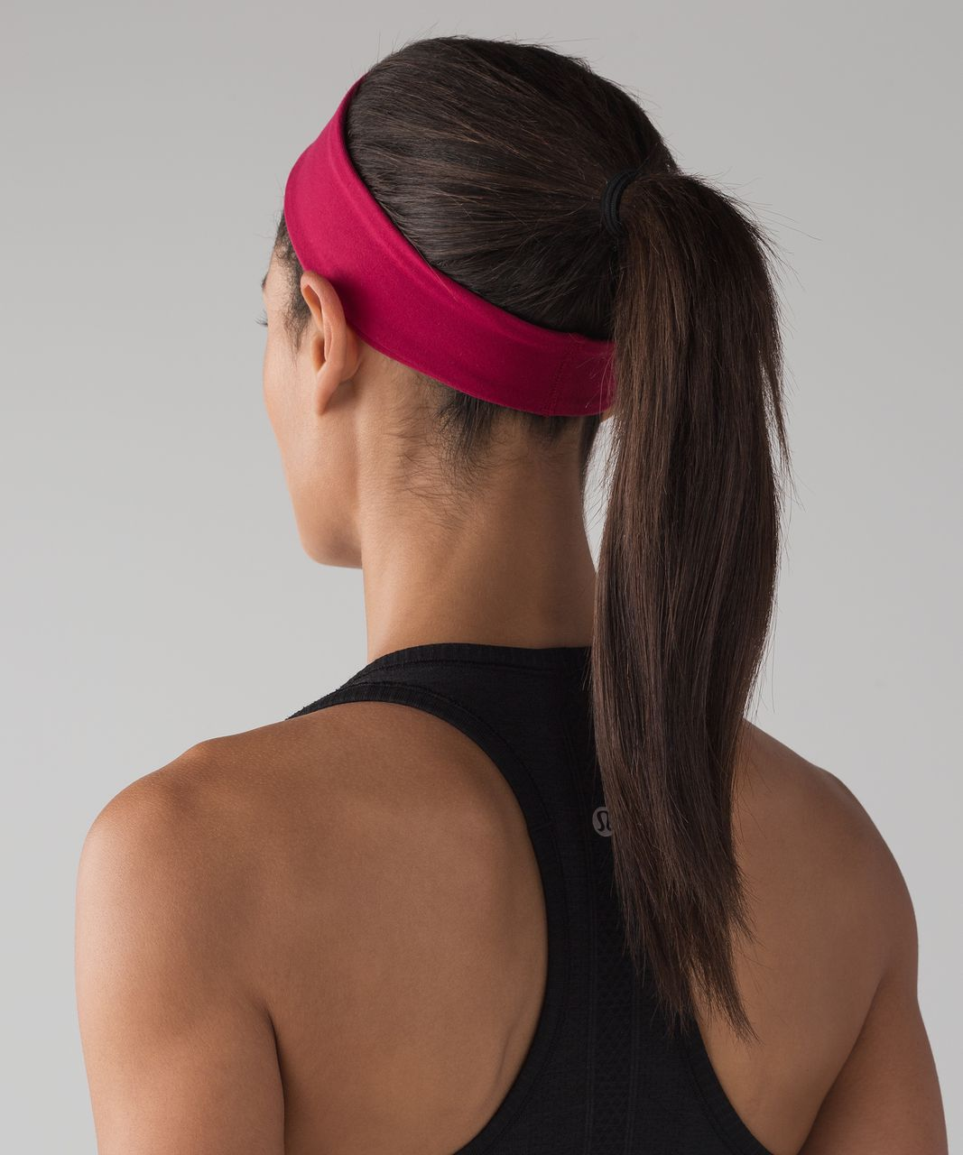Lululemon Fly Away Tamer Headband II - Ruby Red