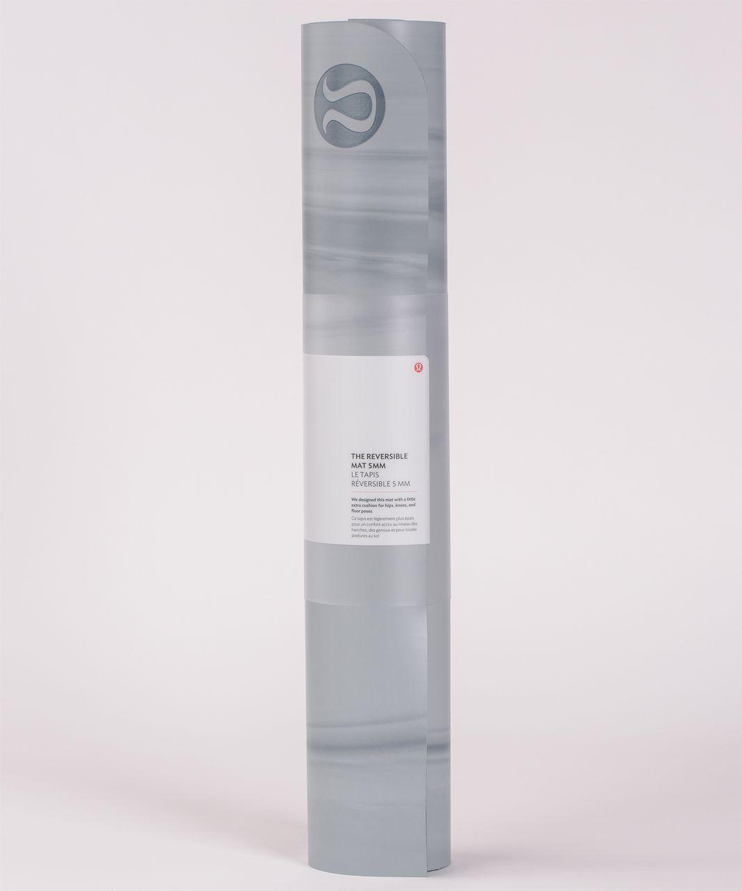 Lululemon The Reversible Mat 5mm - Hail / Arctic Grey / Arctic Grey