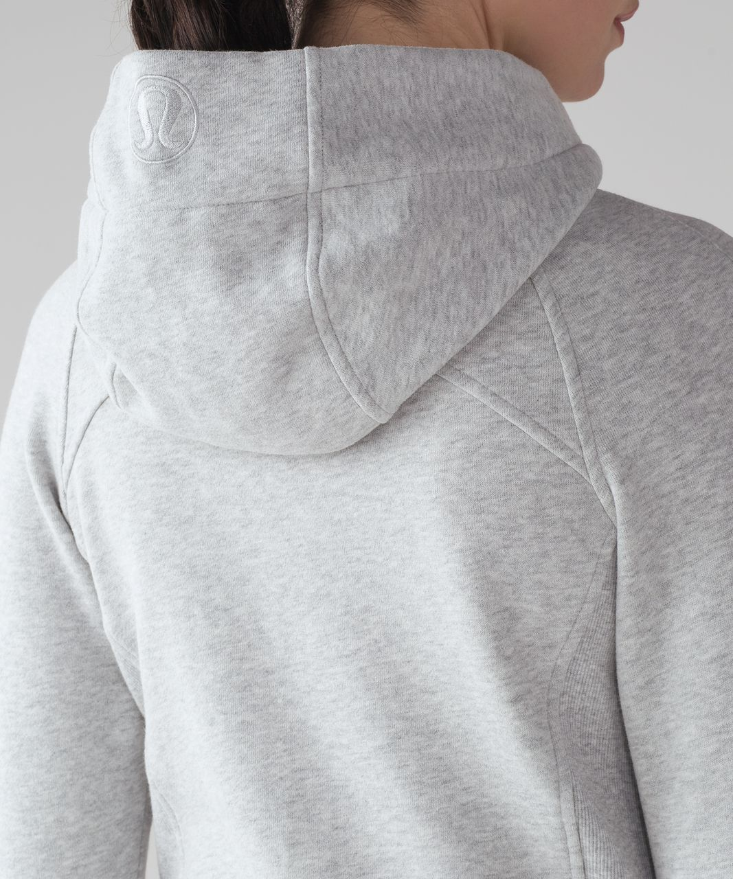 Lululemon Scuba Hoodie *Light Cotton Fleece - Heathered Vapor