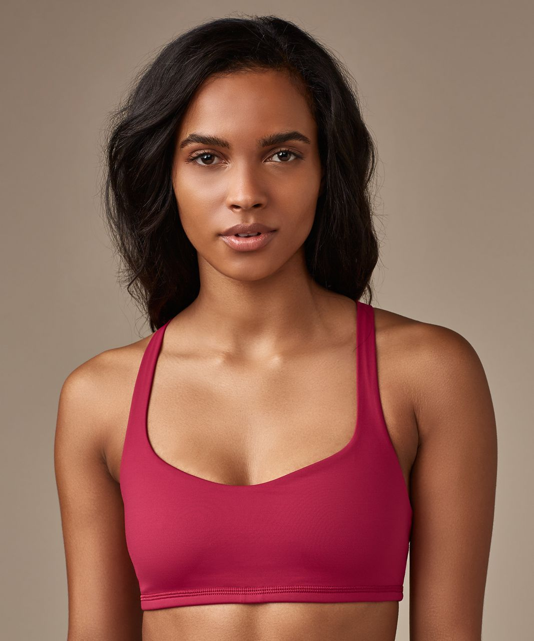 Lululemon Free To Be Bra - Ruby Red