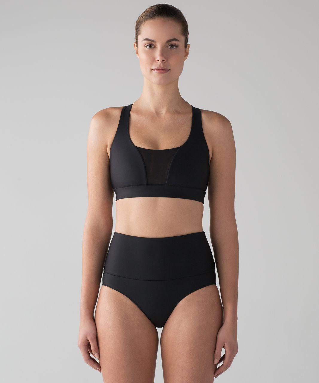 Lululemon Vitalize Swim Bra - Black