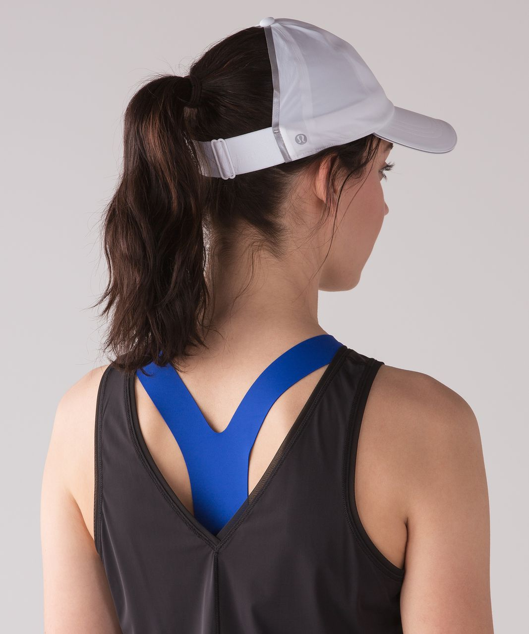 Lululemon Baller Hat Run *Ponytail - White