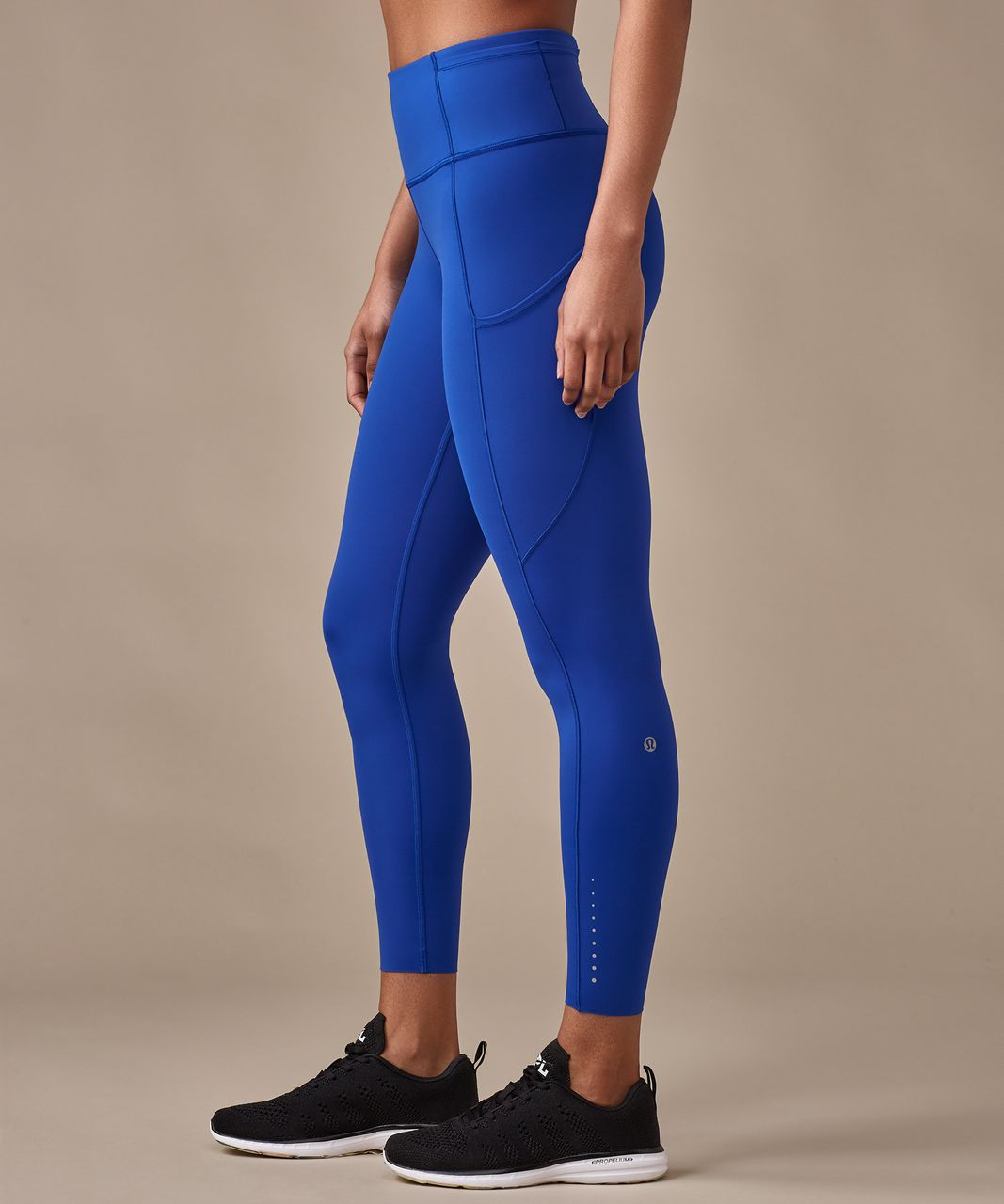 "Lululemon Fast & Free 7/8 Tight (Nulux 25"") - Jet Stream"