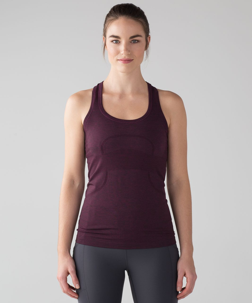 823ccbf156e21 Lululemon Swiftly Tech Racerback - Marvel   Black - lulu fanatics