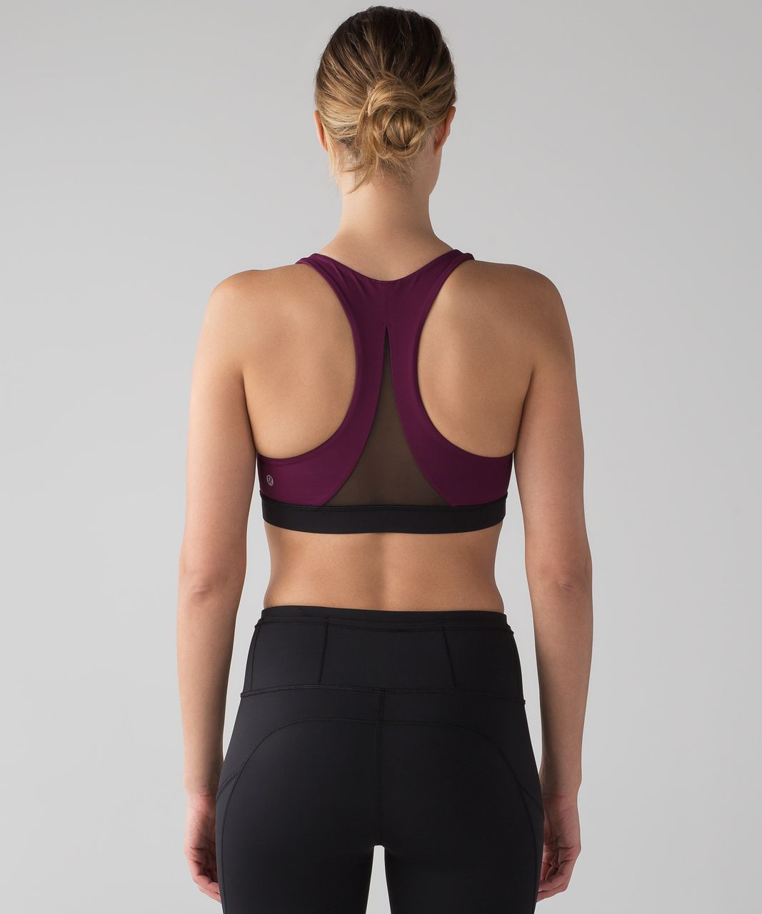 Lululemon Invigorate Bra - Marvel / Black