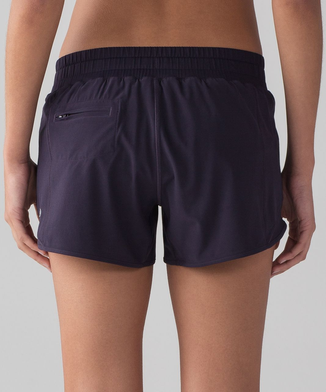 "Lululemon Hotty Hot Short (Long 4"") - Black Grape"