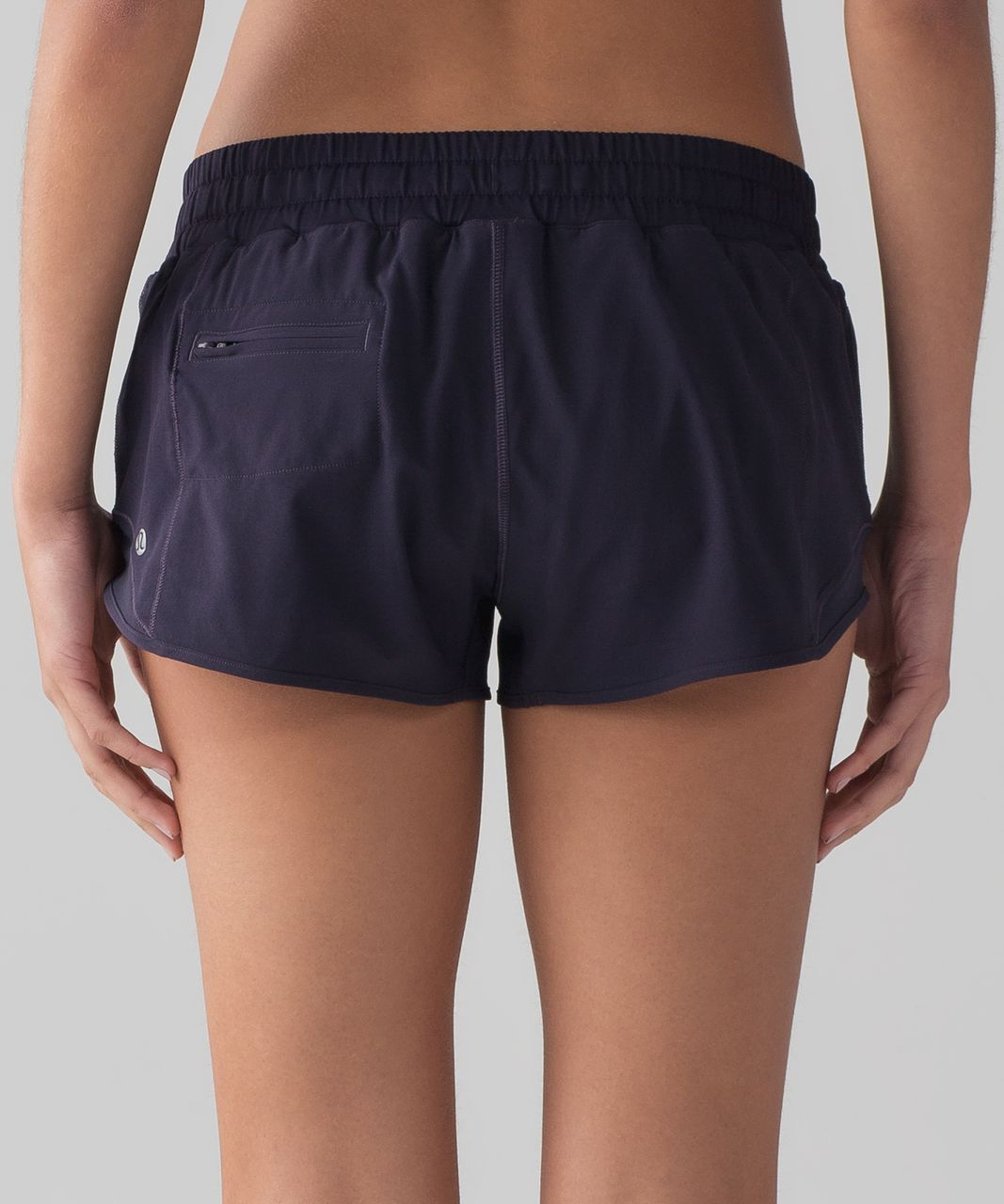 "Lululemon Hotty Hot Short (2.5"") - Black Grape"