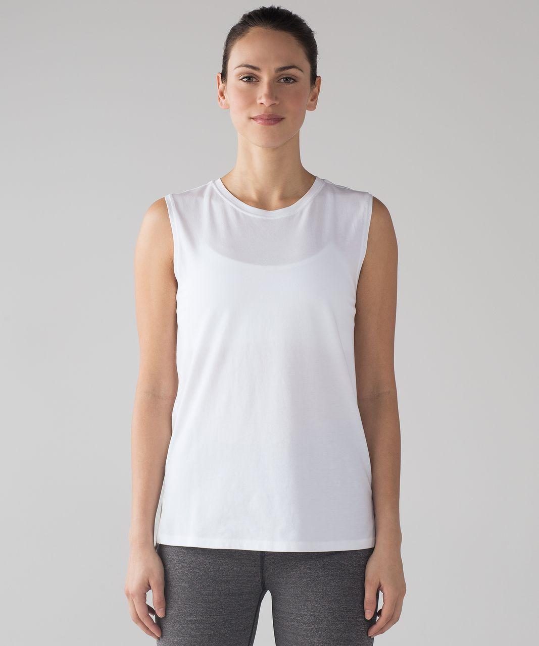 Lululemon Love Sleeveless Tank - White