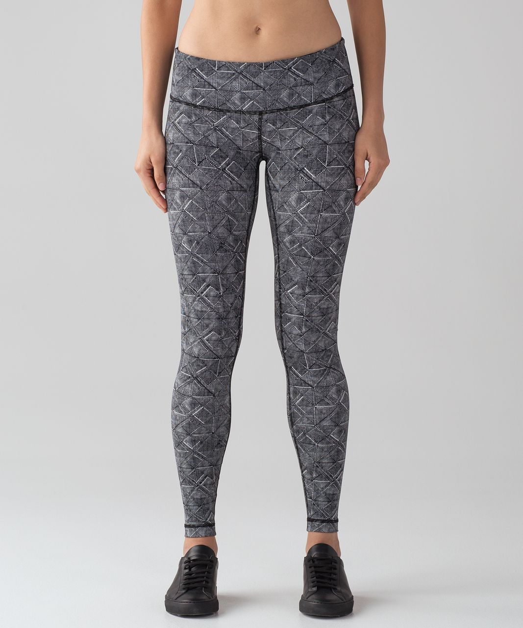 "Lululemon Wunder Under Low-Rise Tight ( Full-On Luxtreme 28"") - Formation Alpine White Black"