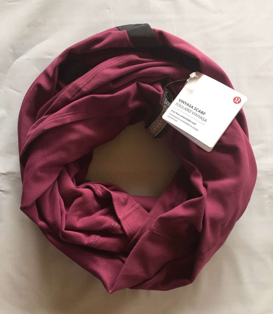 Lululemon Vinyasa Scarf - Red Grape