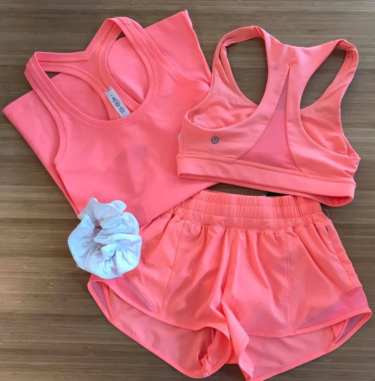 Lululemon Cool Racerback II - Pop Orange