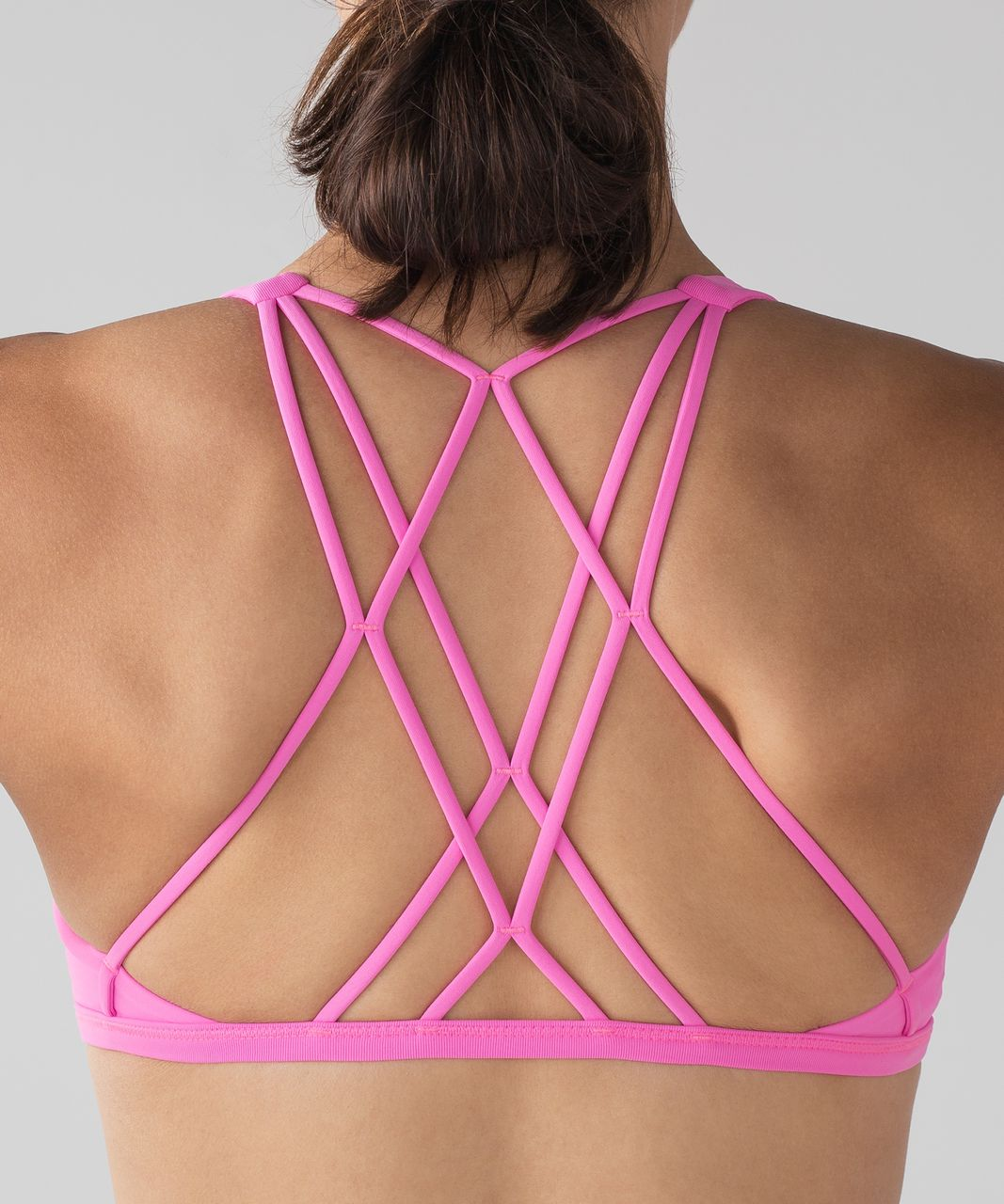 Lululemon Free To Be Zen Bra - Dark Prism Pink