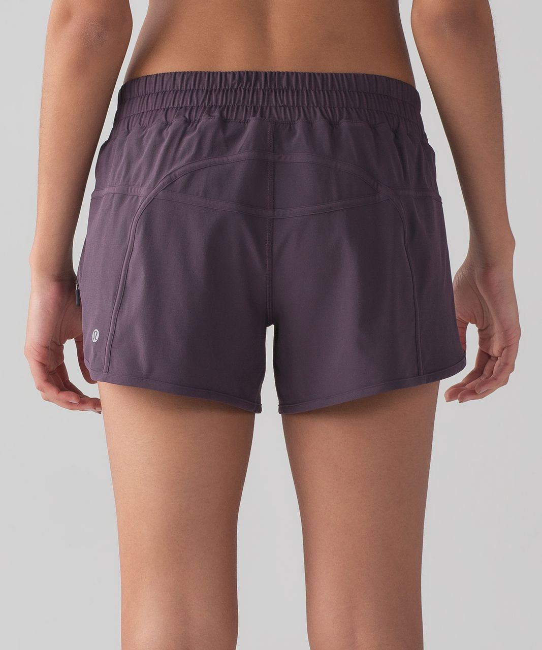 "Lululemon Tracker Short IV (4-way Stretch 4"") - Black Currant"