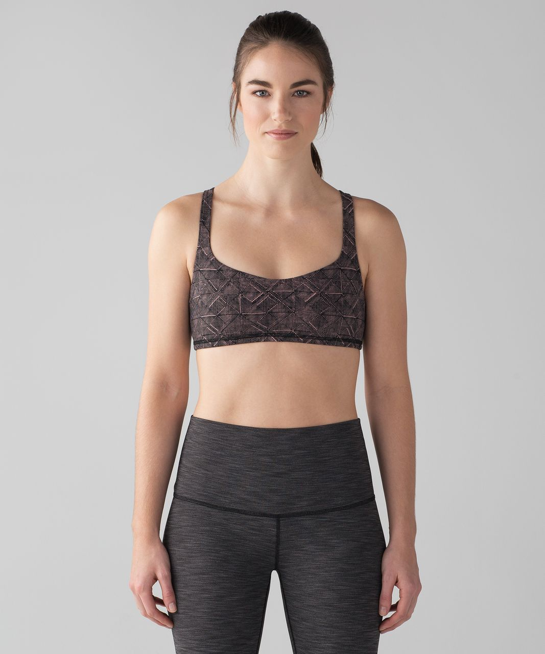 Lululemon Free To Be Bra - Formation Quicksand Black