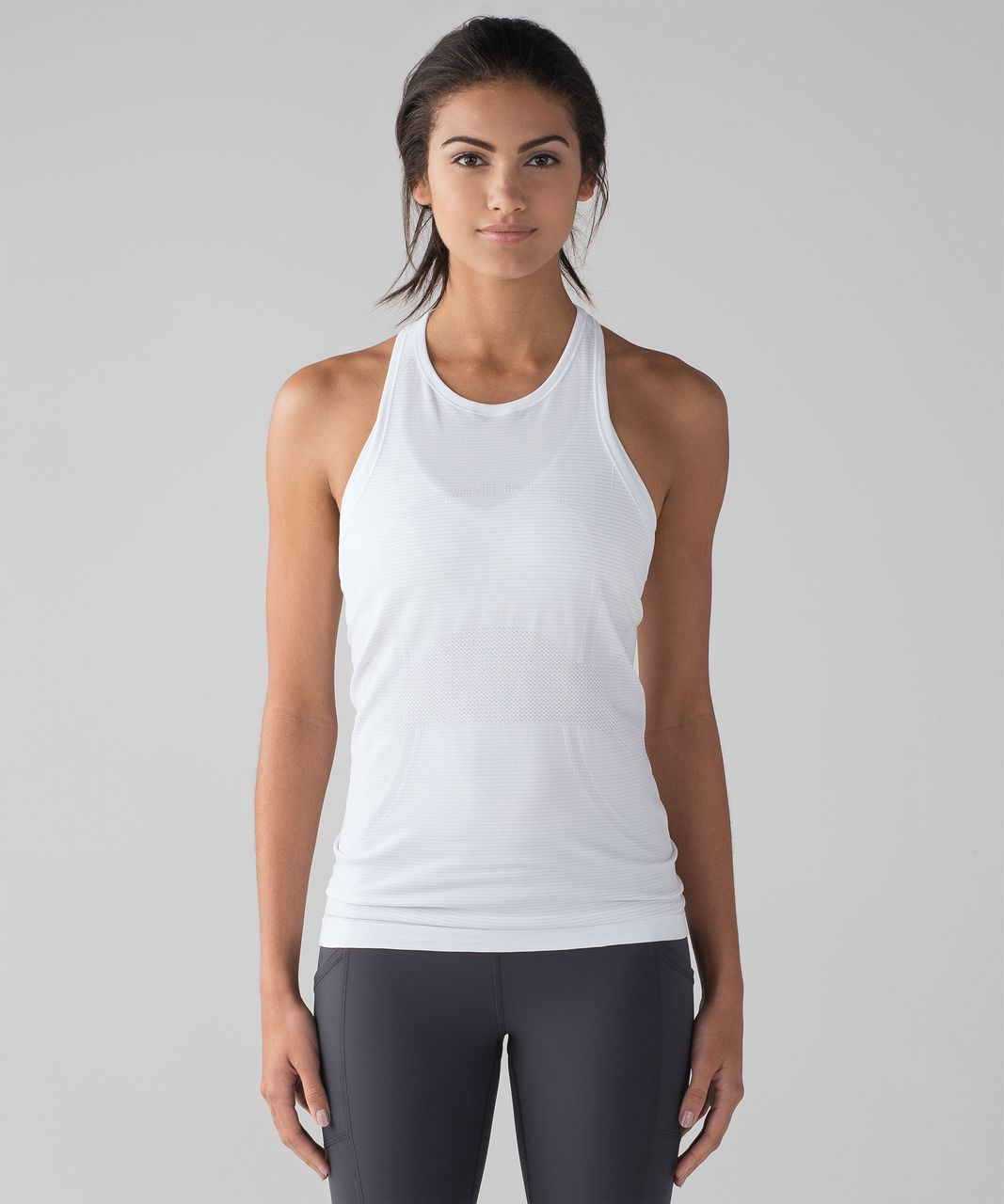 17df5d8115b33 Lululemon Swiftly Tech T-Back - White   White - lulu fanatics