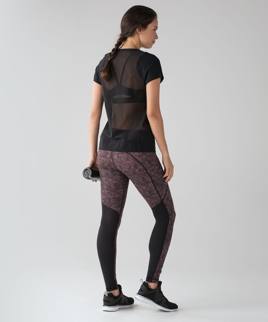 "Lululemon Speed Tight V (29"") - Formation Quicksand Black / Black"