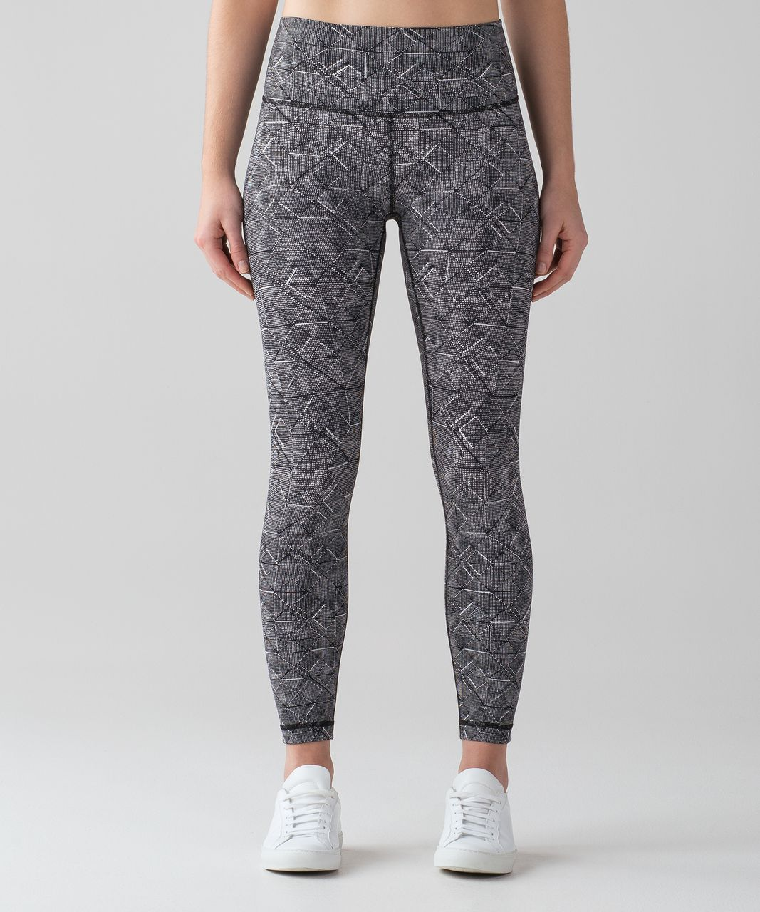 "Lululemon Wunder Under Hi-Rise 7/8 Tight (Full-On Luxtreme 25"") - Formation Alpine White Black"