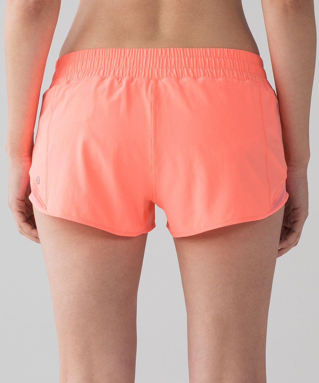 "Lululemon Hotty Hot Short II (2.5"") - Pop Orange"
