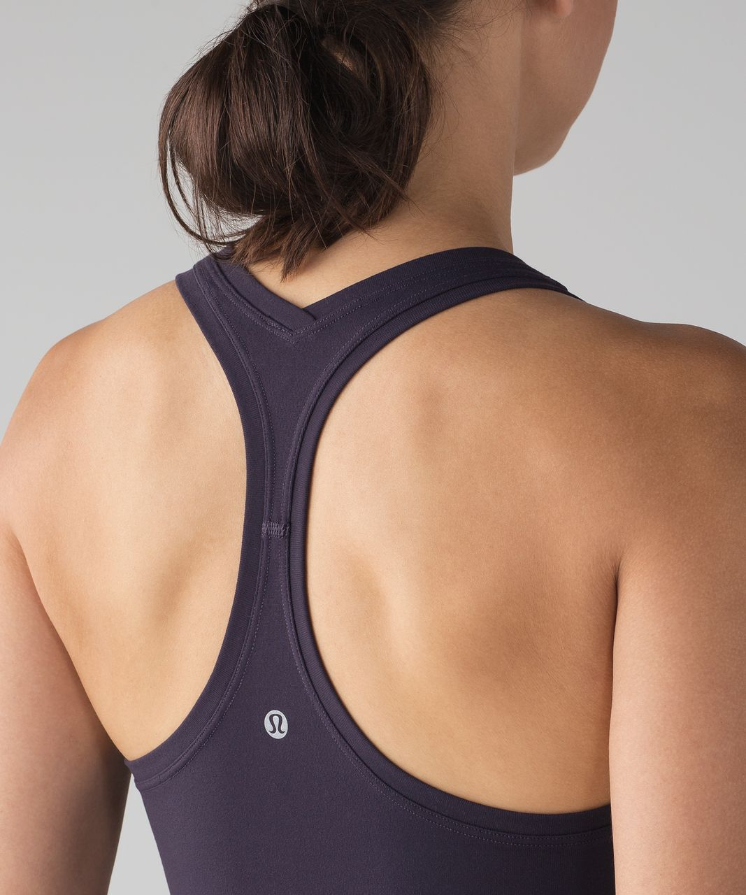 Lululemon Cool Racerback II - Black Grape