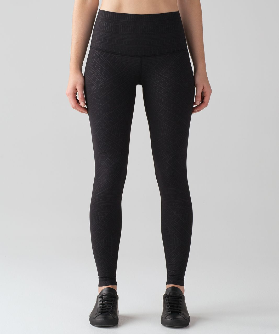 "Lululemon Wunder Under Hi-Rise Tight (Embossed Full-On Luxtreme 28"") - Adorned Emboss Wunder Under Hi-rise Black"