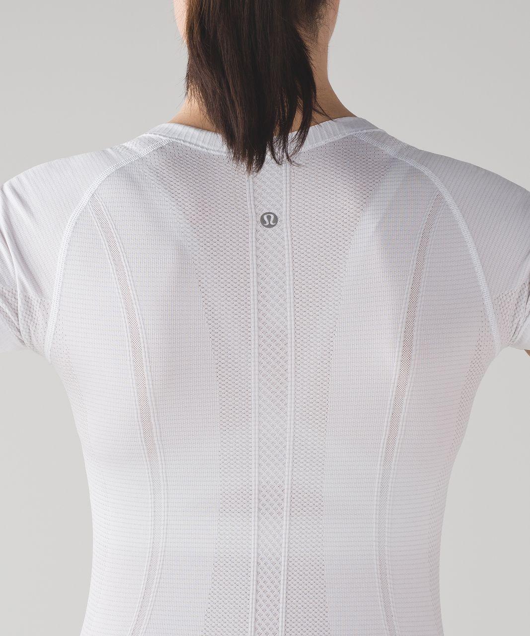 Lululemon Swiftly Tech Short Sleeve Crew - White / White