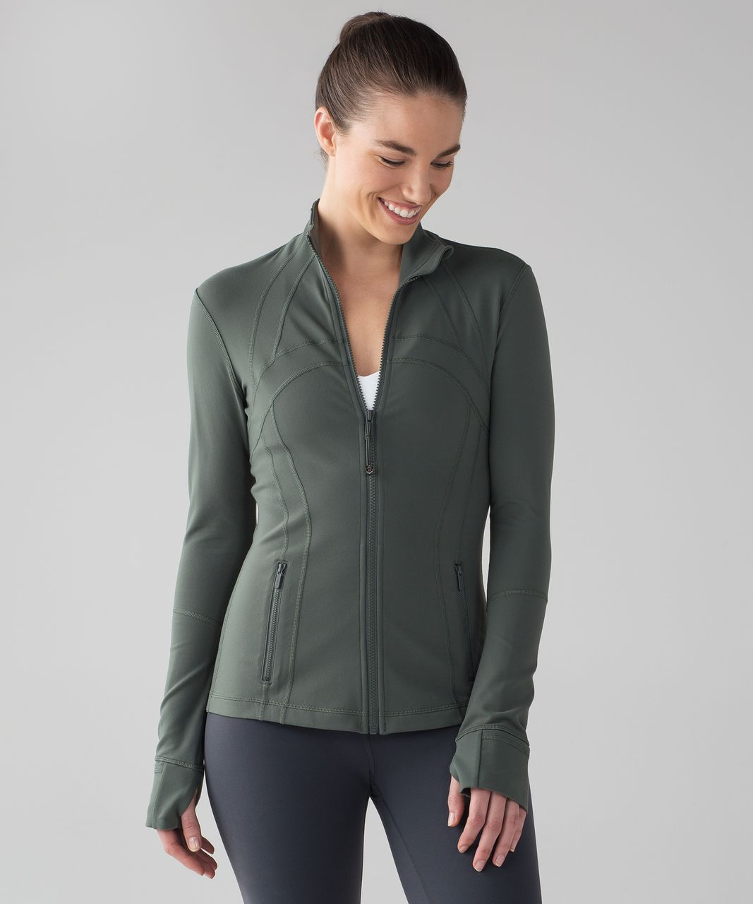 Lululemon Define Jacket - Dark Forest