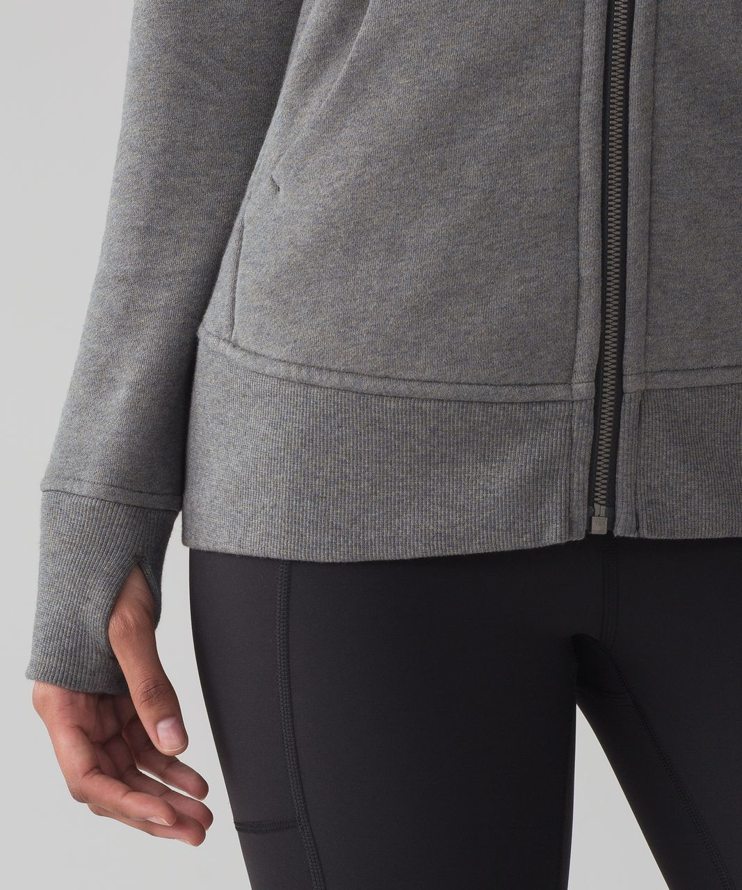Lululemon Scuba Hoodie *Light Cotton Fleece - Heathered Speckled Earth