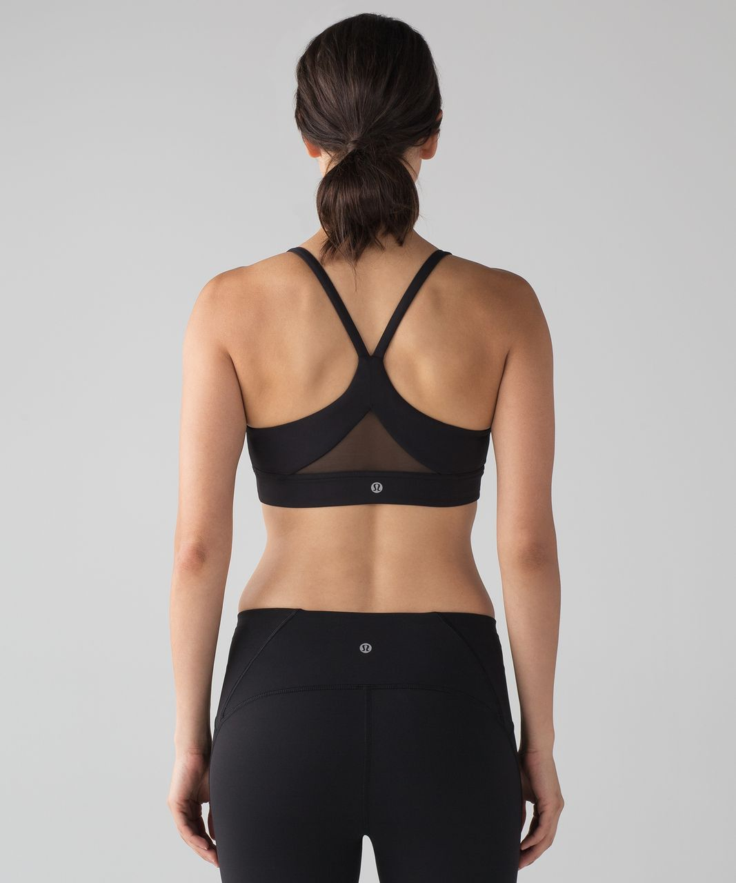 704054b4815dc Lululemon Train Times Bra - Black - lulu fanatics