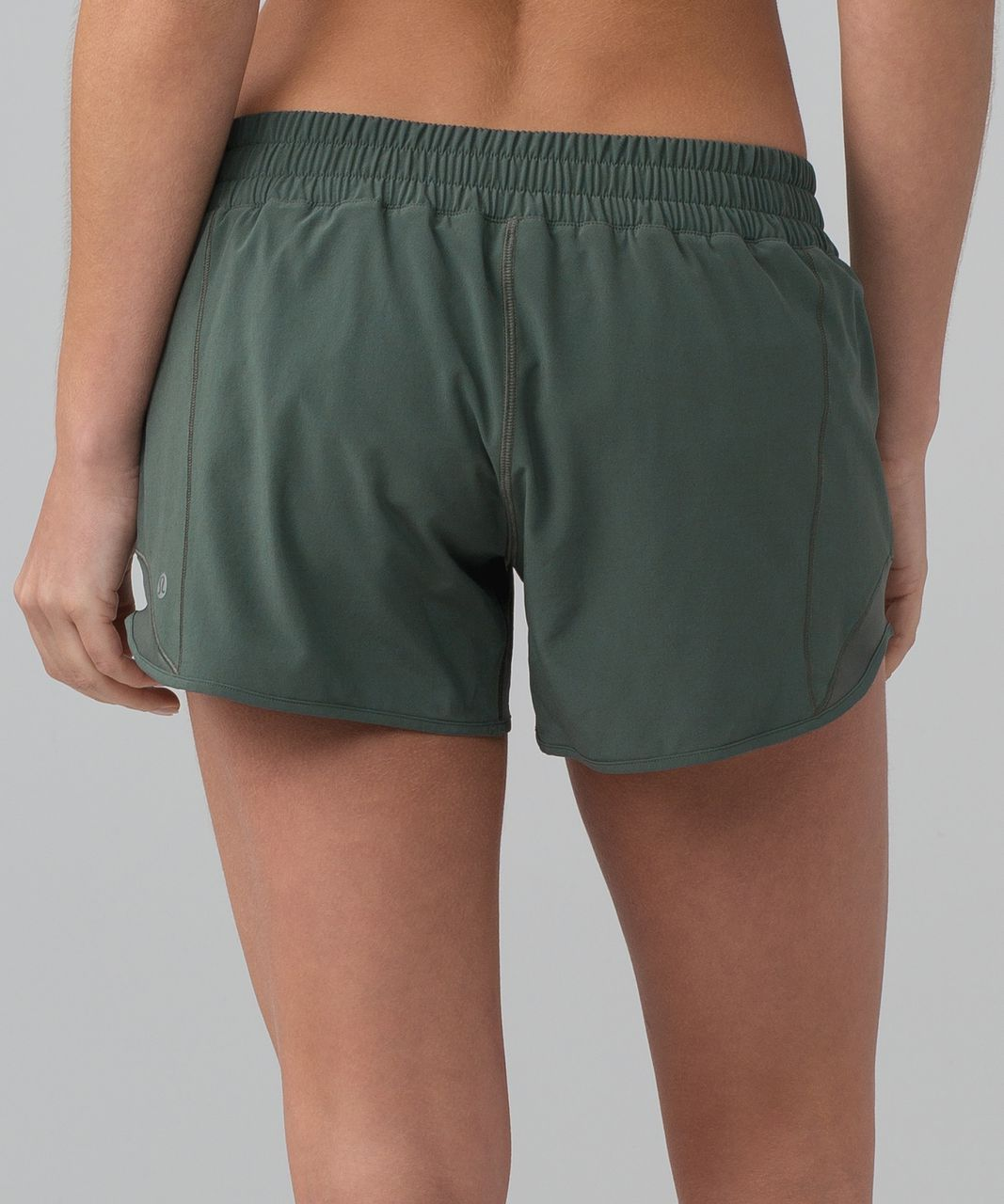 "Lululemon Hotty Hot Short II (Long 4"") - Dark Forest"