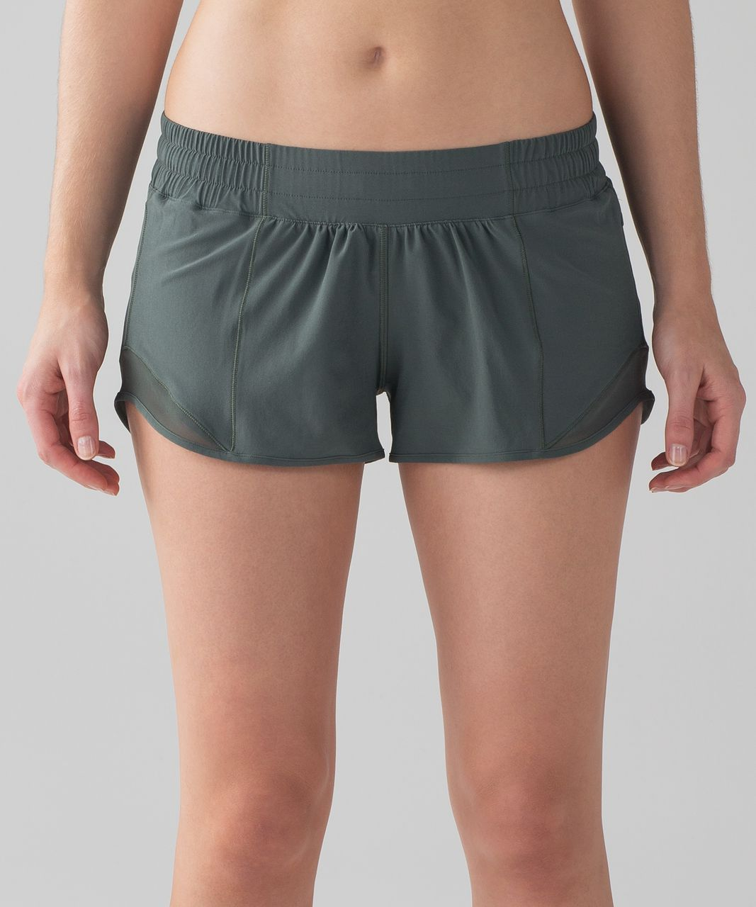 "Lululemon Hotty Hot Short II (2.5"") - Dark Forest"
