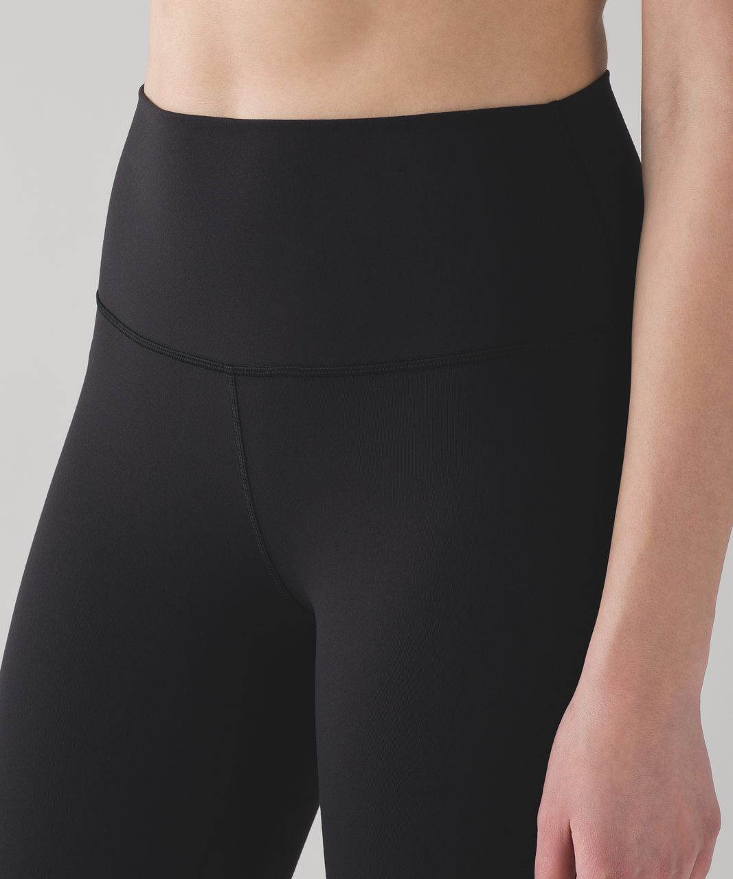 "Lululemon Wunder Under Hi-Rise Tight (Full-On Luon 28"") - Black"