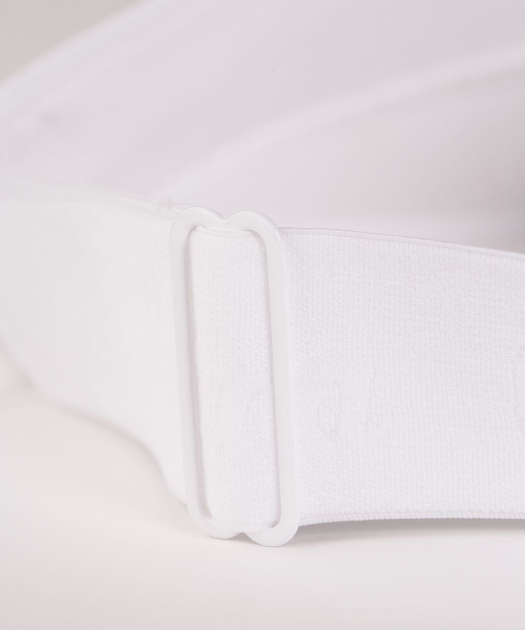 Lululemon Fast Paced Run Visor - White (Fourth Release)